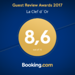 Booking Award La Clef d'Or